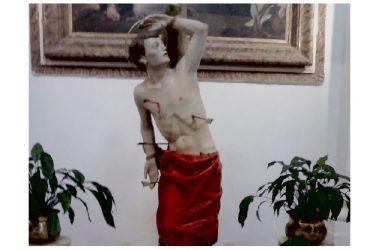 Caserta. San Sebastiano, comPatrono della città, 'eroe senza casa', celebrato nella casa-santuario di Sant'Anna, comPatrona.