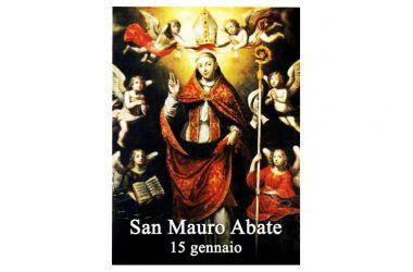 SAN MAURO – Il Santo di oggi 15 gennaio 2021