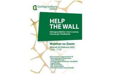 Confagricoltura Salerno invita a partecipare al webinar HELP THE WALL – Salvaguardiamo i muri a secco, risorsa per l'ambiente