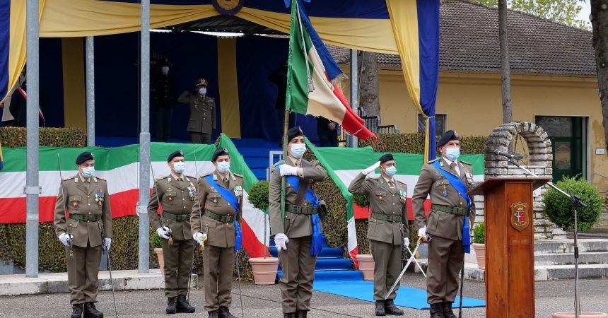 """""""LO GIURO"""" ai reggimenti addestramento volontari"""