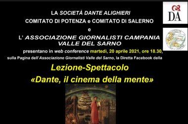 """Lezione-spettacolo """"Dante, il cinema della mente"""""""