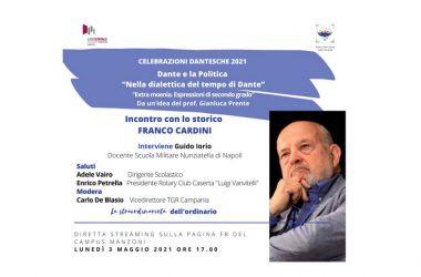 """""""Dante e la politica"""": lo storico Franco Cardini incontra i manzoniani"""