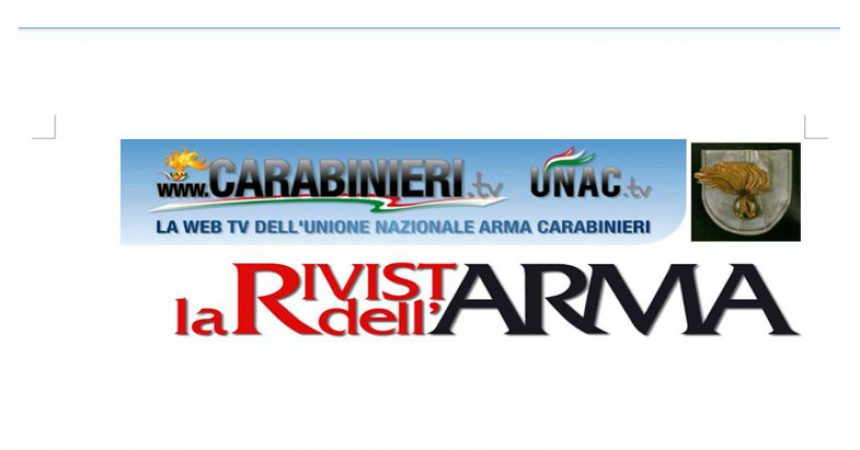 Comunicato Stampa del 14 maggio 2021 del Segretario Generale e Presidente dell'UNAC Unione Nazionale Arma Carabinieri.
