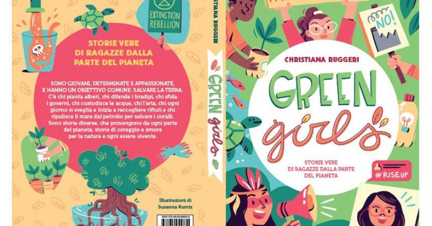 Maggio dei Libri | #GreenGirls di Christiana Ruggeri | Per Amor del Pianeta | 27 maggio evento online con WWF Campania e IAC Uccella Santa Maria CV
