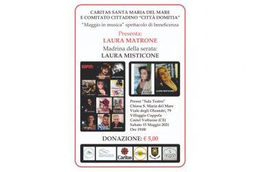 """""""Maggio in Musica"""" a Castel Volturno, artisti  uniti per la solidarietà"""