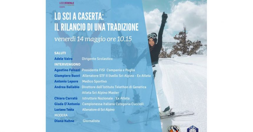 Promozione e valorizzazione degli sport invernali tra i giovani: sottoscritto il protocollo al liceo Manzoni di Caserta. Torna lo sci club di Caserta