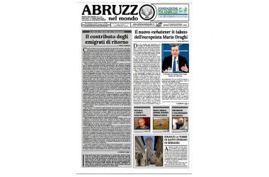 Abruzzo nel Mondo – uscito il n. 3/2021del bimestrale.
