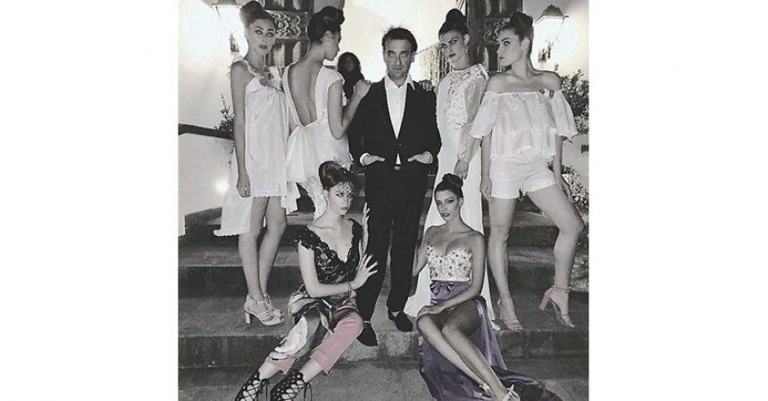 """Fashion Week Napoli 2021 – Raffaele Tufano presenta la collezione """"The secret garden"""""""