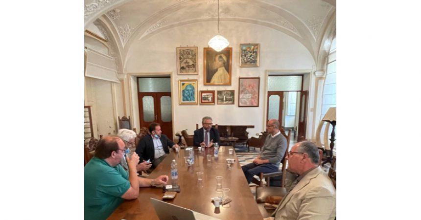 """Visita al Villaggio dei  Ragazzi dei dirigenti del gruppo """"Laminazione Sottile"""""""