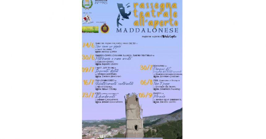 Villaggio  dei Ragazzi: al via la Rassegna  Teatrale all'aperto maddalonese