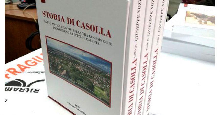 Presentazione del libro di Giuseppe Vozza su Storia di Casolla