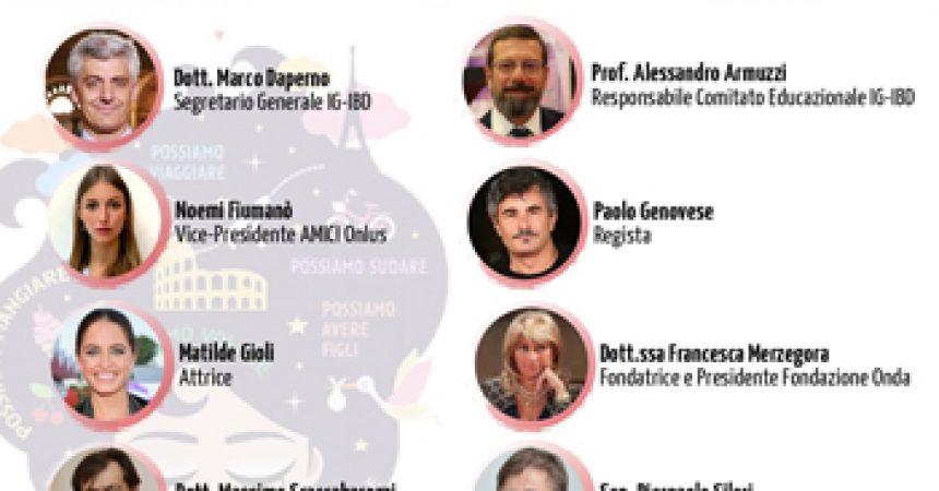 """RSVP – Conferenza stampa online (16 giugno) di IG-IBD """"IBDonna – Insieme si può"""", con Sen. Pierpaolo Sileri, Paolo Genovese e Matilde Gioli"""