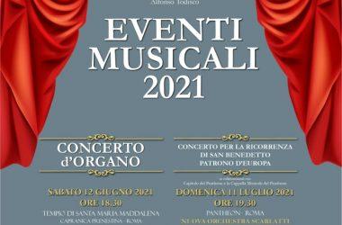 A Capranica Prenestina eventi musicali 2021