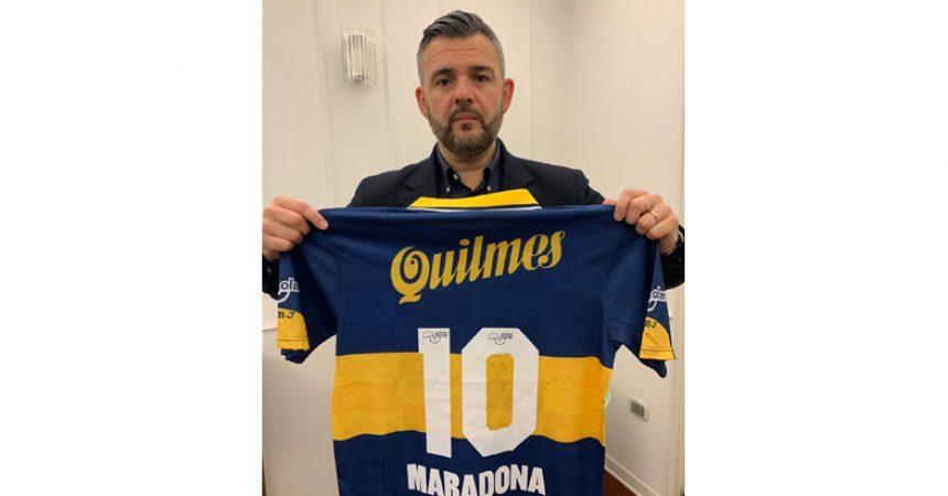 """Santa Maria Capua Vetere. Iª Edizione Torneo di calcio """"Coppa Maradona SMCV""""."""