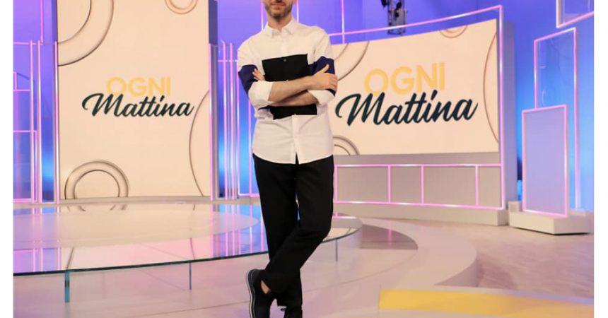 Valentino Odorico, il nuovo volto moda del piccolo schermo