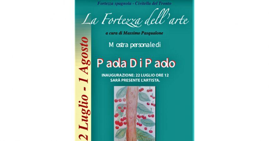 Paola di Paolo in mostra alla Fortezza di Civitella del Tronto