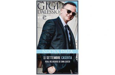 Gigi D'Alessio bissa a Un'Estate da BelvedeRe: l'11 settembre la prossima data.
