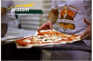 """Innovazione,  tecnologia e food: intesa tra Protom e """"L'antica Pizzeria da  Michele"""""""