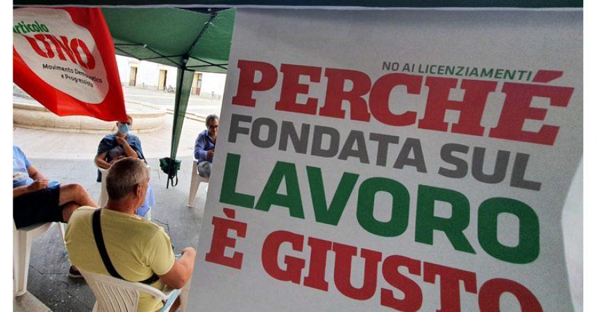 Articolo Uno torna nelle piazze domenica 25 luglio a Caserta, Sant'Arpino e Capodrise per parlare di salute, lavoro e fisco e per la campagna adesioni 2021