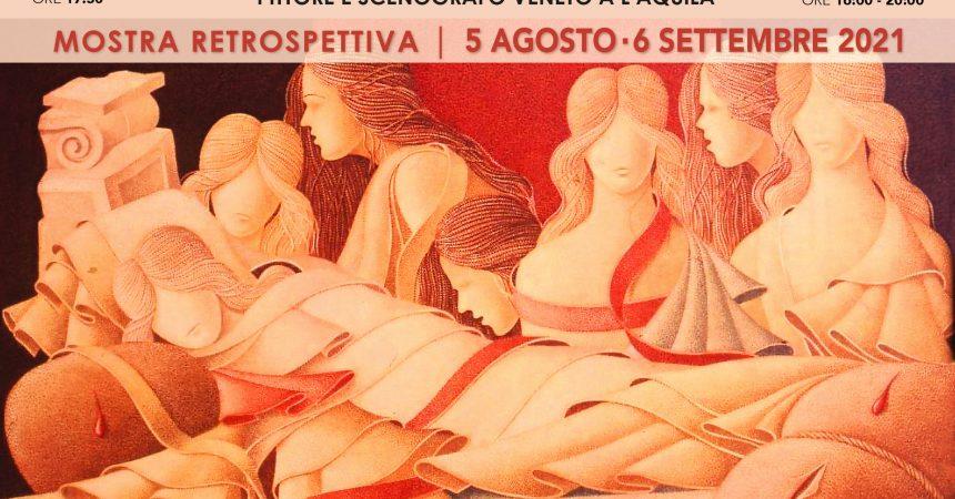 """One Gallery riapre le sue porte espositive con la retrospettiva """"MANTOVANELLI – PITTORE E SCENOGRAFO VENETO A L'AQUILA (1951-1981)"""""""