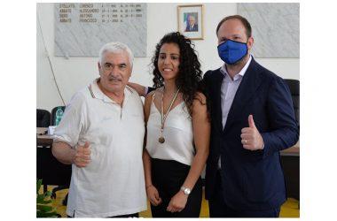 """ZINZI: """"COMPLIMENTI A SIRINE CHARAABI, LO SPORT PER RILANCIARE L'IMMAGINE  DELLA NOSTRA TERRA""""."""
