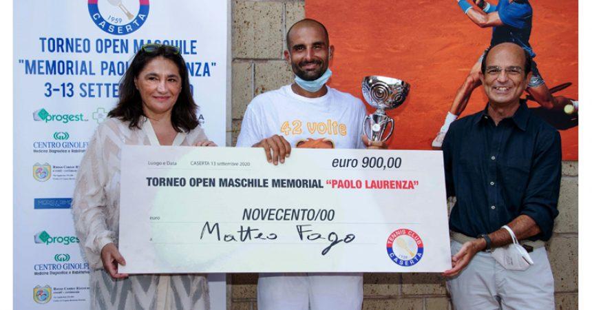 """Memorial Paolo Laurenza"" torneo open di tennis di categoria maschile"