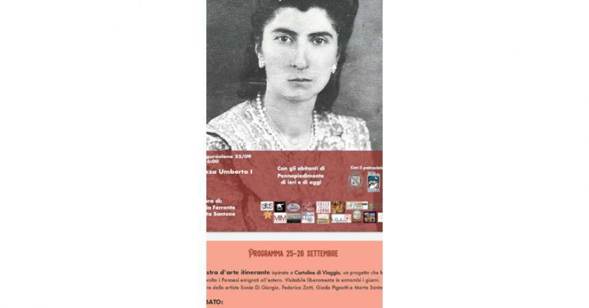 """Mostra """"Racconti di viaggio"""": Storie di famiglie pennesi emigrate nel corso del '900.—"""