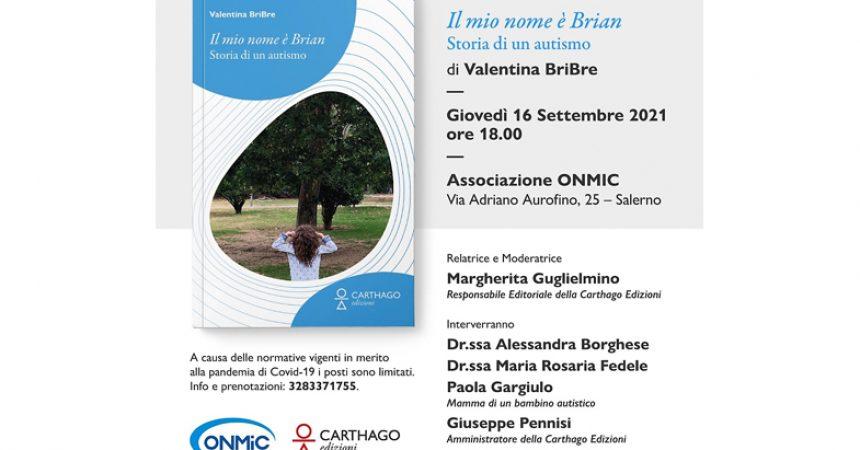 """Autismo,  le storie di vita nel libro di Valentina Esposito """"Il mio nome è  Brian"""""""