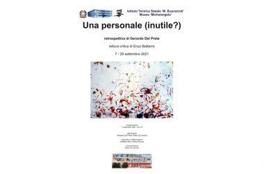 Caserta, Museo Michelangelo – Una personale (inutile?) / retrospettiva di Gerardo Del Prete