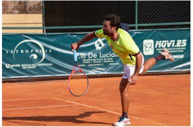 """Andrea Paciello si aggiudica il """"Memorial Paolo Laurenza"""" torneo open di tennis di categoria maschile"""